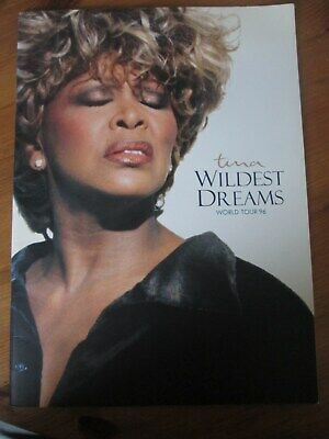 Tina Turner Wildest Dreams World Tour 1996 Tour Programme • 7£