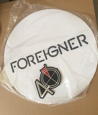 FOREIGNER 40th Anniversary Slip Mat And 40th Patch • 15£