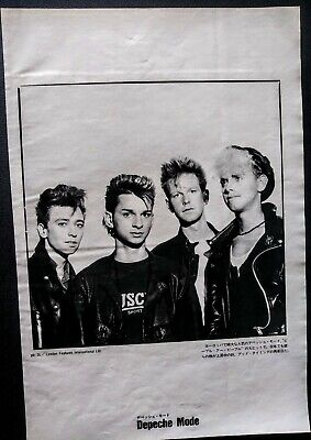 Depeche Mode Vintage Japan Pin Up 1985 • 4.82£