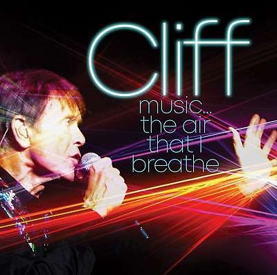 CLIFF RICHARD MUSIC...THE AIR THAT I BREATHE NEW CD - Released 30/10/2020 • 9.96£