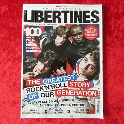 THE LIBERTINES - NME Icons RARE 100 Page UK Collectors Magazine (2010) • 9.95£