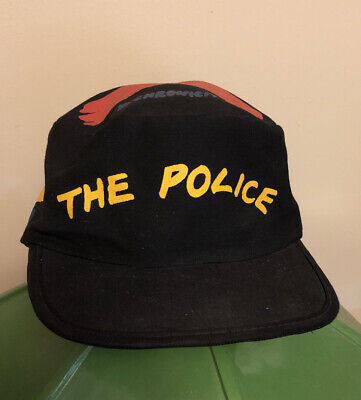 Vintage The Police New Wave Rock Group Syncronicity Painters Cap Hat Sting 1983 • 25.91£