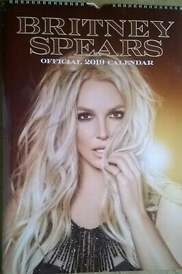 BRITNEY SPEARS Official 2019 A3 Wall Calendar (New, Sealed) • 19.99£