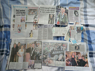 ROD STEWART HUGE CUTTINGS/CLIPPINGS COLLECTION UK PAPERS 1970's/1980's/2020  • 9.99£