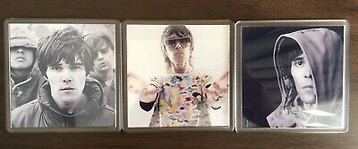 The Stone Roses Ian Brown 3 Piece Coaster Gift Set • 7.99£