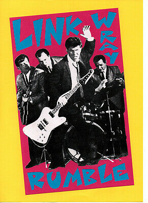LINK WRAY POSTER. Approx A3. Rockabilly, Rock'n'Roll. • 5.99£