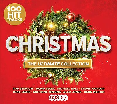 Christmas : The Ultimate Collection (5cd-various) - Brand New & Sealed Cd X • 3.45£