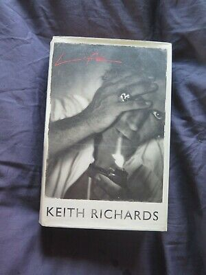 KEITH RICHARDS 'LIFE' Signed Autobiography Autographed 2010 ROLLING STONES LIFE • 599£