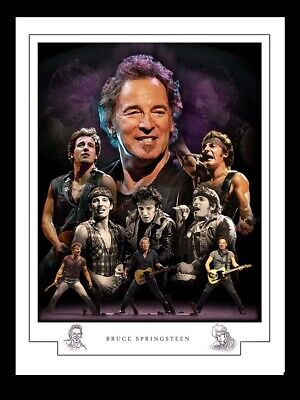 Bruce Springsteen  A3  Montage Print • 13£