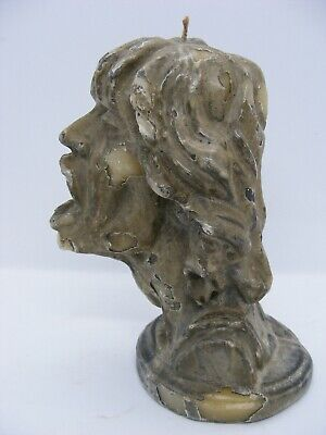 MICK JAGGER 1980s CANDLE APX 14cm TALL FREE UK POST A PIECE OF TAT REALLY • 9.99£