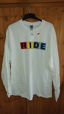 Ride Band Official Long Sleeve Limited Edition T-shirt Xl Nowhere Going Blank... • 25£