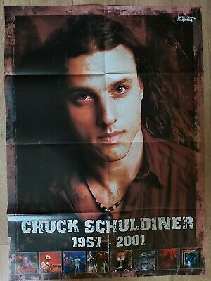 CHUCK SCHULDINER/MOTORHEAD Double Sided Folding Poster • 5.99£