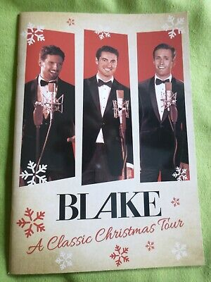 Blake Classic Christmas Tour Program From December 2019 In Mint Condition • 3.99£