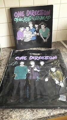 One Direction/1d - On The Road Again Tour Programme 2015 - Great Condition + Bag • 30£
