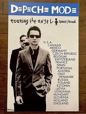 Depeche Mode Touring The Angel Poster + Promo • 37.04£