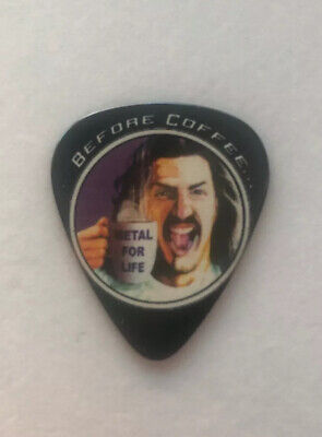 Anthrax Frank Bello  Before Coffee Tour Guitar Pick  • 5.99£