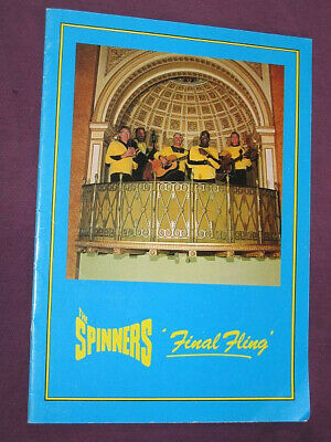 The Spinners: Signed 'Final Fling' Tour Programme • 0.99£