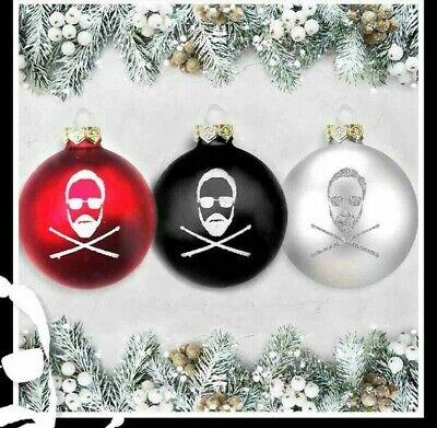 Queen Roger Taylor Christmas Baubles Set • 30£