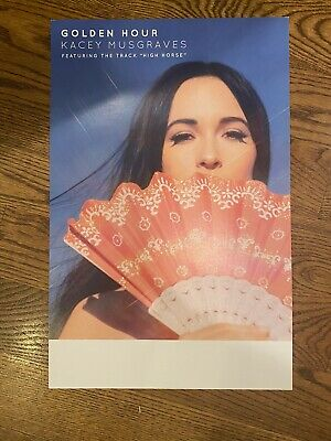 Kacey Musgraves Golden Hour Official US Promo Poster 11x17 Inches • 11.11£