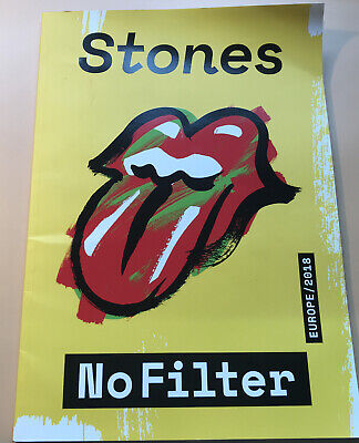 Rolling Stones No Filter Programme • 6.10£