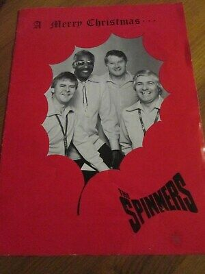Spinners Merry Christmas Concert Programme 1978 • 3.50£