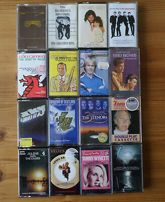 16 X Cassette Albums All Good/Very Good Condition (4) • 2.99£