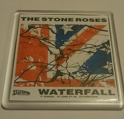 STONE ROSES COASTER Waterfall    Cd Vinyl Rare Ticket Poster T Shirt • 2.49£