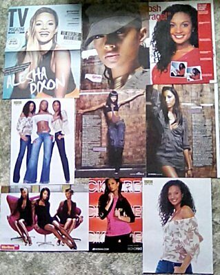 Alesha Dixon & Mis-Teeq Clippings Pack 43 Full Pages Instyle + ( 2003 - 2018 ) • 1.60£