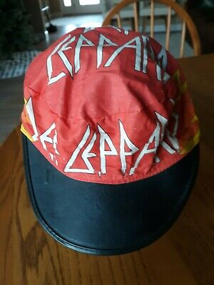 Def Leppard 1980's Painters Hat In Very Good Condition  • 22.09£