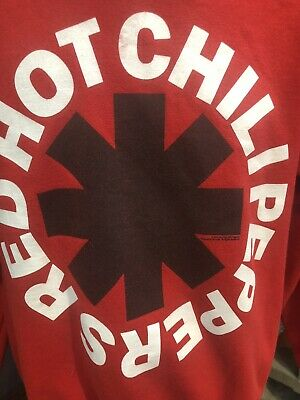 Red Hot Chili Peppers Red Small Sweatshirt 2012 Some Red On C Flea Anthony Kiedi • 9.21£