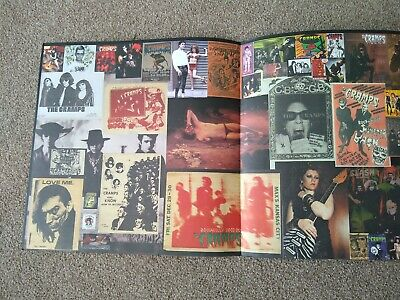 The Cramps Multi Fold Out LP Style Poster, Rare Images, Printed Both Sides.  • 8£