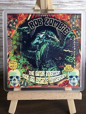 Rob Zombie The Lunar Injection Kool Aid Eclipse Conspiracy Cover Coaster Gift • 3.99£