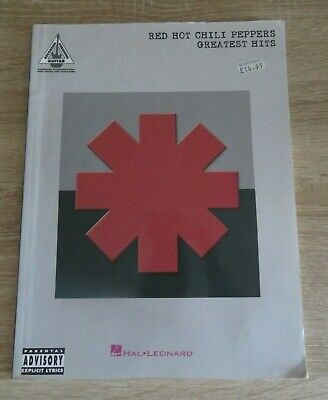 Red Hot Chili Peppers Greatest Hits Guitar Tab Sheet Music Paperback  • 7.99£