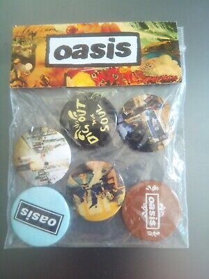 Oasis - 6 X 25mm Button Badge Set 'Dig Out Your Soul'  • 2.50£