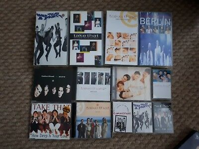 Vintage Take That Videos, CDs And Cassettes • 9.50£