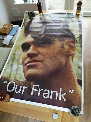 MORRISEY (The Smiths): Our Frank, Massive 60  X 40  Original Advertising Poster. • 15.49£