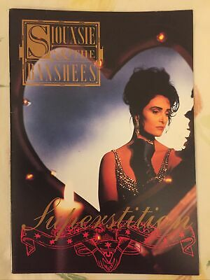 Siouxsie Sioux. Siouxsie & The Banshees Superstition Program. Vintage. Awesome. • 10£