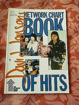 David   Kid  Jensen's Network Chart Book Of Hits 1988  Illustrated Book  • 5£
