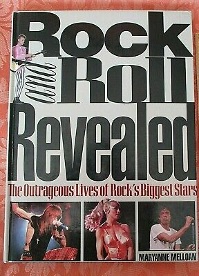 ROCK & ROLL REVEALED By MARYANNE MALLOAN 1993 VINTAGE BOOK ILLUSTRATED HARDBACK  • 2.50£