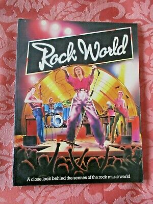 The Rock World - Behind The Scenes Of Rock Music - 1979 Illustrated Book • 3£
