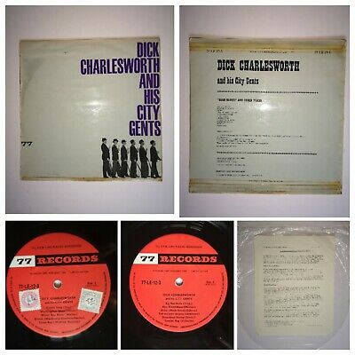 Limited Edition 'dick Charlesworth And His City Gents' Rare 77 Label (le 12-3) • 20£