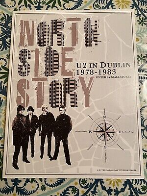 U2 Northside Story 1978-1983 Book W/ Poster Fan Club Exclusive  • 7.28£