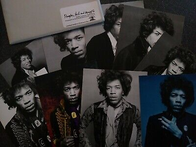 Jimi Hendrix 10 Gallery Set, Rare Classic Images (Postcard Size) - Issue 63 • 42£