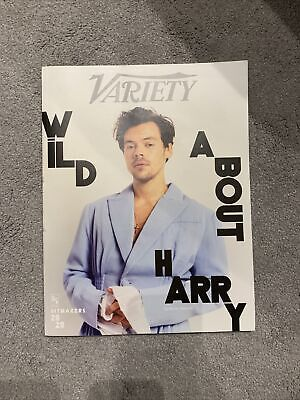 Harry Styles Variety Magazine December 2020 Hitmakers USA Rare Collectors • 20£