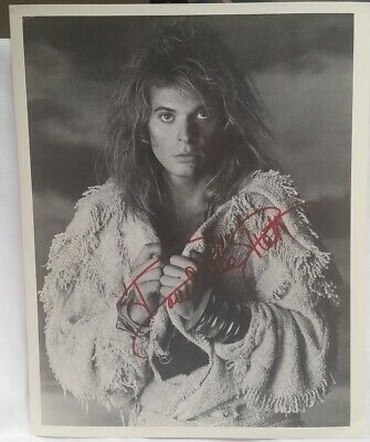 David Lee Roth - Old Personally Autographed 8 X 10 Press Kit Photo - Mint • 70.95£