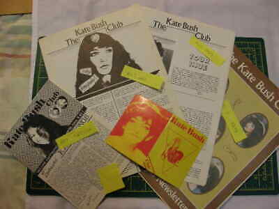 Vintage Original, Kate Bush Fan Club Mags Year 1979 (Newsletter Issues 1 To 4) • 50£
