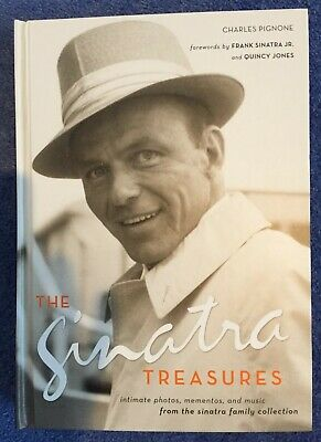 The Sinatra Treasures - Book With Cd And Momentos By Charles Pignone • 5.99£