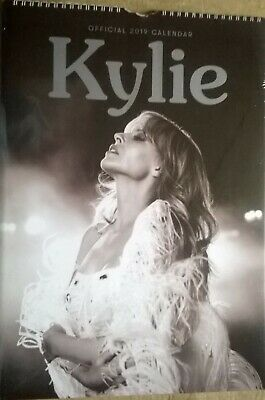 KYLIE MINOGUE Official 2019 A3 Wall Calendar - (New, Sealed) • 19.99£