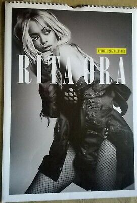 RITA ORA 2017 Official A3 Wall Calendar (New/Sealed) • 19.99£