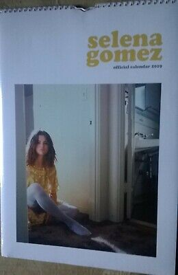 SELENA GOMEZ Official 2019 A3 Wall Calendar (New, Sealed) • 19.99£